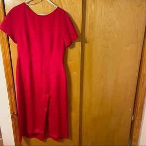 Ginger & Smart Red Midi Dress